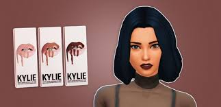 kylie jenner lipstick the sims 4