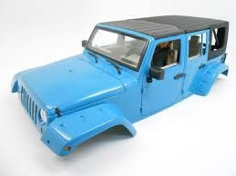 new bright jeep wrangler unlimited hard steel roll cage 1 10 scale crawler