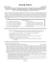 Analyst Resume Sample Business Systems Analyst Resume Sample ...