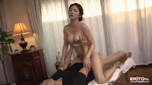 Sensual asian massage tits