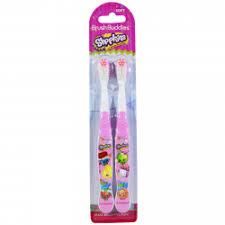 Отзывы о Детская <b>зубная щетка Shopkins</b> Brush Buddies