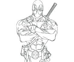 Printable Deadpool Coloring Pages Coloring Pages Printable Coloring