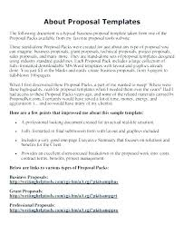 Professional Business Proposals Free Business Proposal Template Doc Chanceinc Co