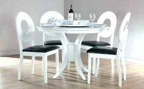 Grey And White Dining Table Round Dining Table Grey High Gloss