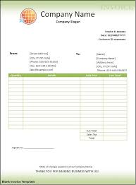 Microsoft Word Invoice Template Free Download Free Blank Invoice