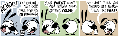 re ing is access to the research paper the same thing as  patent cartoon