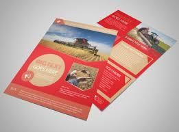 paper flyer agriculture templates mycreativeshop