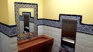 Mexican Bathroom Mexican Restaurant Bathroom With Mexican Talavera Tiles Latin 9000 by guidejewelry.us