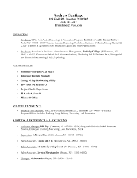 Music Resume Free Resume Example And Writing Download