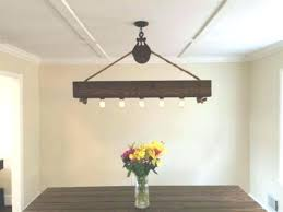 wood and metal chandelier rustic round throughout plans w