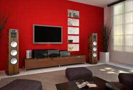 Apply Best Painting Ideas for Living Room red color  home ideas  ideasdecoracioninteriores 12