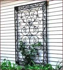 exterior wall art metal gate artwork outdoor wrought iron wall art wrought iron outdoor wall decor