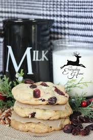 cranberry pecan white chocolate chunk cookies