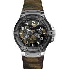 w0407g1 green watch 45mm 9 guess w0407g1 men s watch green