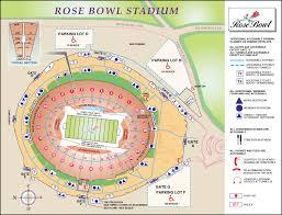 Rose Bowl Stadium Maps La Galaxy