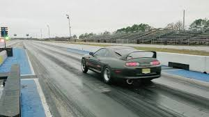 8 Second Auto Supra -- Record Chasing A340E Monster Built by ...