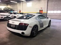 audi r8 2015 white. 2015 audi r8 52 v10 quattro coupe navi back up camera parking sensors white