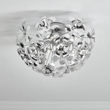wilko galaxy light fitting chrome image 1