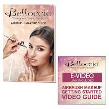 belloccio professional um shade airbrush cosmetic makeup system holiday kit walmart