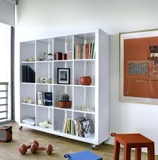 white shelving unit for wall mobile modular room divider shelf or display unit white wall mounted