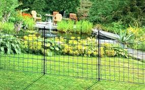 metal garden border decorative metal lawn edging fence