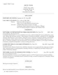 Law Clerk Resume Sample Attendance For Graduate Template Resumes