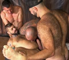 Gay group hairy sex