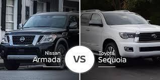 Nissan Armada Vs Toyota Sequoia Burly Suvs Do Battle