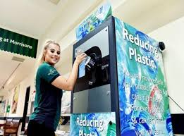Reverse Vending Machine Uk Beauteous Morrisons Trials Reverse Vending Machines For Plastic Bottles
