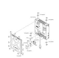 Speaker parts diagram and parts list for sony audioequipmentparts bose subwoofer installation