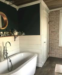 45 Farmhouse Rustic Bathroom Decor Ideas on A Budget - crowdecor.com