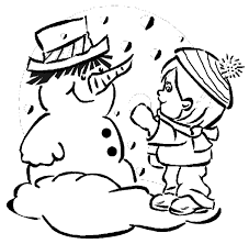 Small Picture Dora And Boots Make Snowman Coloring Pages Winter Winter
