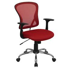 red office chairs. White Leather Office Chair Mesh Red Chairs M
