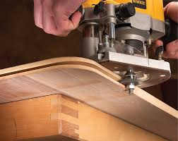 wood router edge. rout the spline slot on tabletop\u0027s edge. splines align and strengthen joint between edging tabletop. wood router edge n