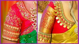 Lakshmi Rupu Blouse Designs My Favourite Kasu Work Blouse Collection Latest Kasu Work Blouse Designs