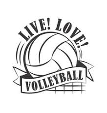 Volleyball Word Volleyball Word Ball Vector Images 35