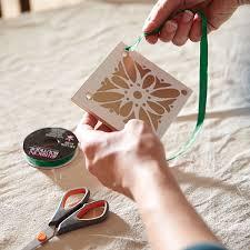 craft ideas ceramic tile gift tag