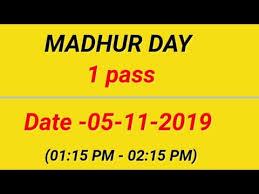Videos Matching Madhur Day Matka Revolvy