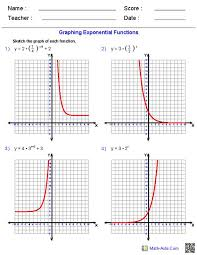 students will need to match an equation of a graph first with a graphs of exponential functions by mariomonte40