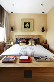 Gorgeous Double Beds For Small Rooms Larger Between Divider Act Option  Limited Alternative Both Side