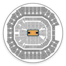 Charlotte Hornets Seating Chart Map Seatgeek