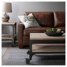 Franklin Coffee Table Weathered Gray Threshold™ Tar