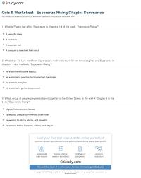 worksheet chapter summary worksheet worksheet and essay worksheet chapter summary worksheet quiz worksheet esperanza rising chapter summaries study com print 1 4 worksheet