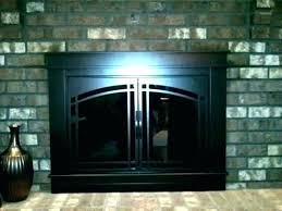 ideas fireplace screens with glass doors and fireplace screens with doors fireplace screen vs glass doors