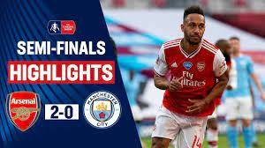 Lethal Aubameyang Sends Arsenal to the Final | Arsenal 2-0 Manchester City  | Emirates FA Cup 19/20 - YouTube
