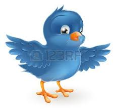 blue bird clipart. Simple Clipart Illustration Of A Happy Little Bluebird With Wings Outstretched To Blue Bird Clipart 123RFcom