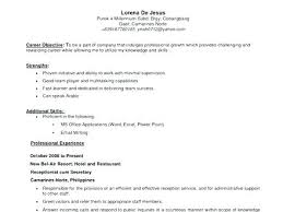 Secretary Objective For Resume Resume Administrative Unit Secretary ...
