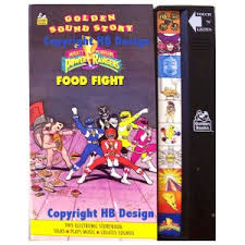 mighty morphin power rangers food fight golden sound story