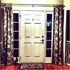 side panel window curtains sidelight panels for front doors a charming light door with stained glass