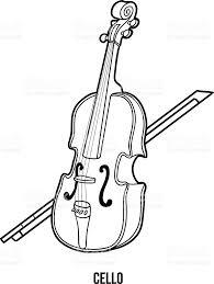 Livre De Coloriage Pour Les Enfants Instruments De Musique